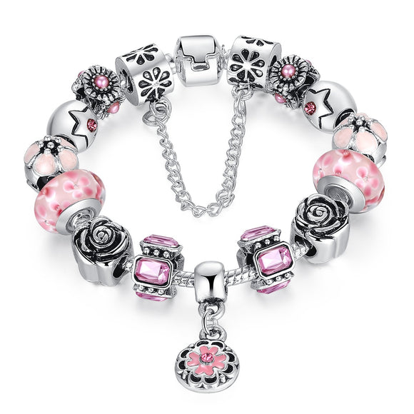 Diy Design Your Own Charm Bracelet for Gift PA1856