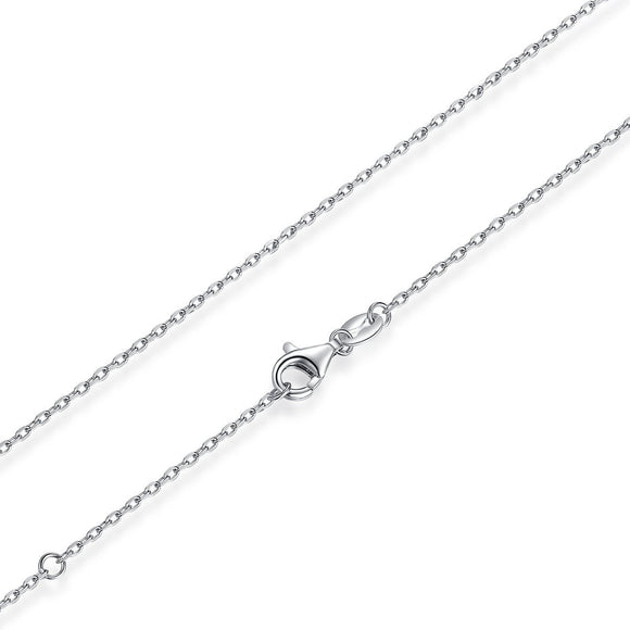 925 Sterling Silver Long Chains Necklaces Fit For Pendant Charm For Women Luxury S925 Jewelry Gift SCA009-45