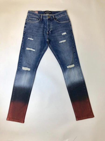 DMT-606T PALMS PAINTED DENIM