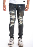 PISA DENIM -SLIM/STRETCHY/DISTRESSED