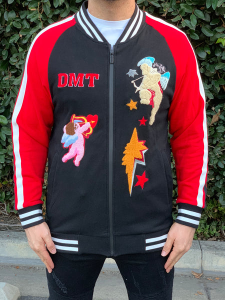 DMT-1219 BLACK+RED