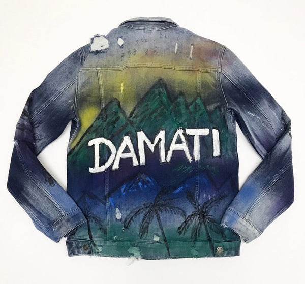 DMT-607J HILLS PAINTED JACKET