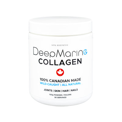 100% Pure, Canadian-Made Marine Collagen Peptides – 30 Day Supply