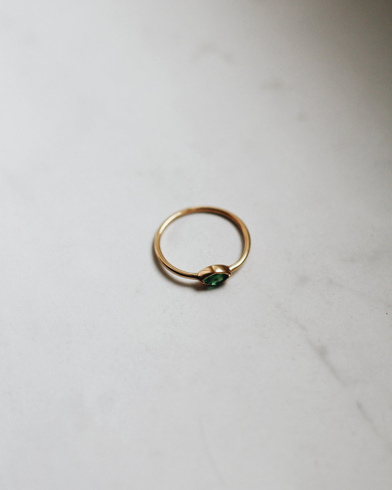 Green Zirconia Ring