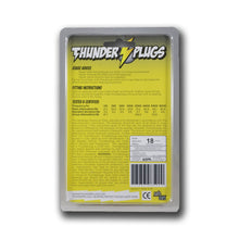 THUNDER PLUGS CLASSIC BLISTER PACK 1 PAIR WITH CASE