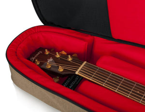 Gator Transit Series Acoustic Guitar Bag-Tan