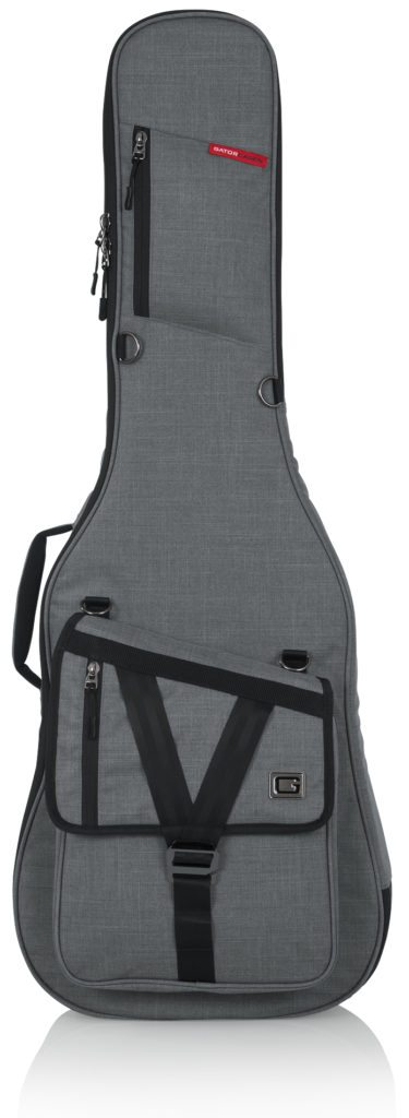 Gator Transit Series Electric Guitar Gig Bag with Light Grey Exterior