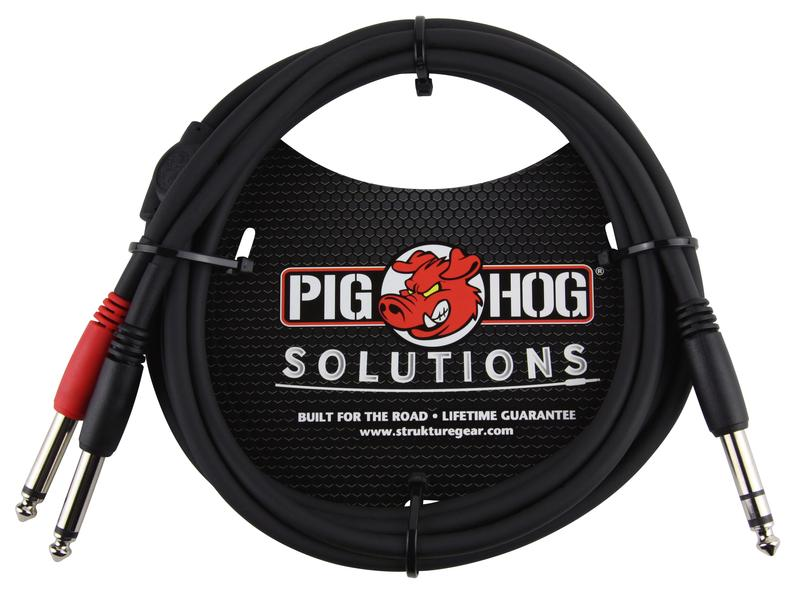 PIG HOG SOLUTIONS - 6FT TRS(M)-DUAL 1/4