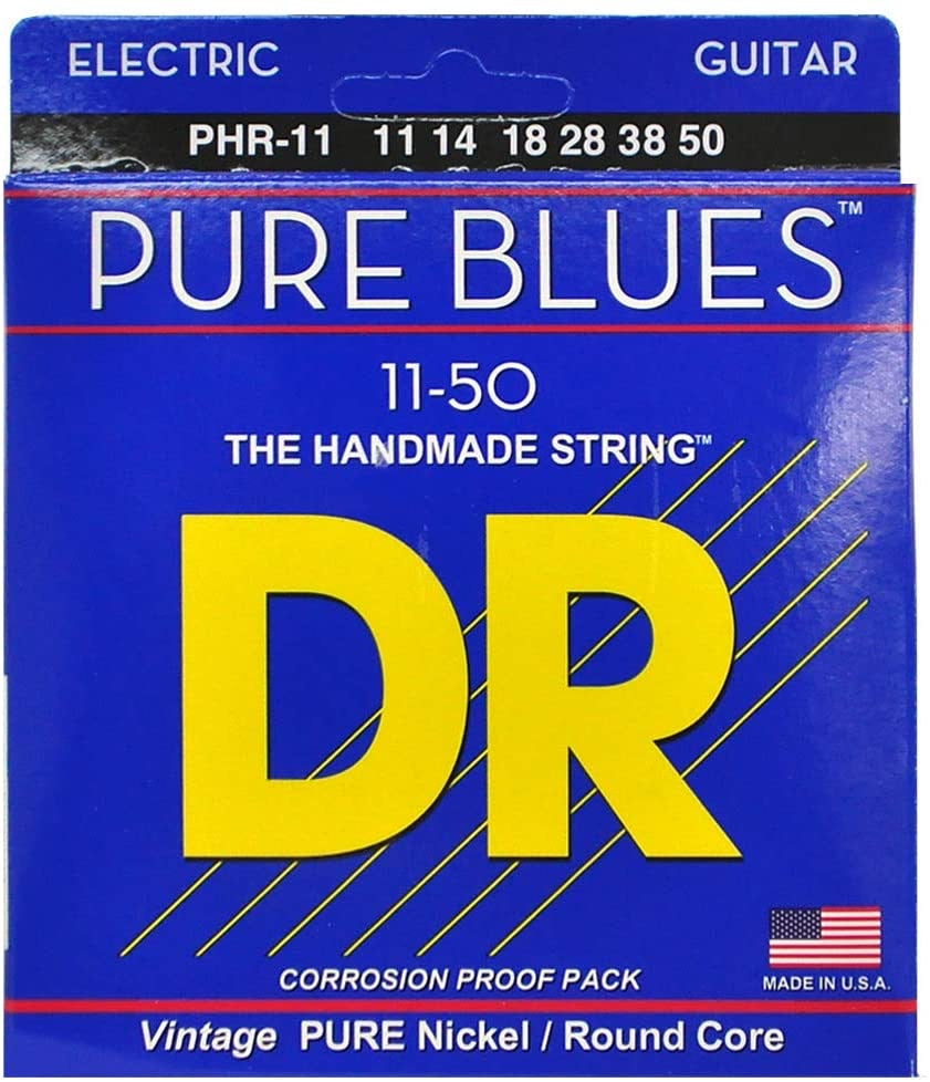 DR Pure Blues PHR-11 Heavy Electric Guitar Strings