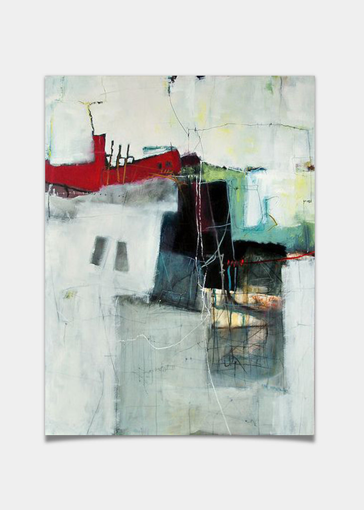Abstract boat