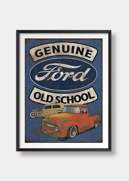 Genuine Ford Old School