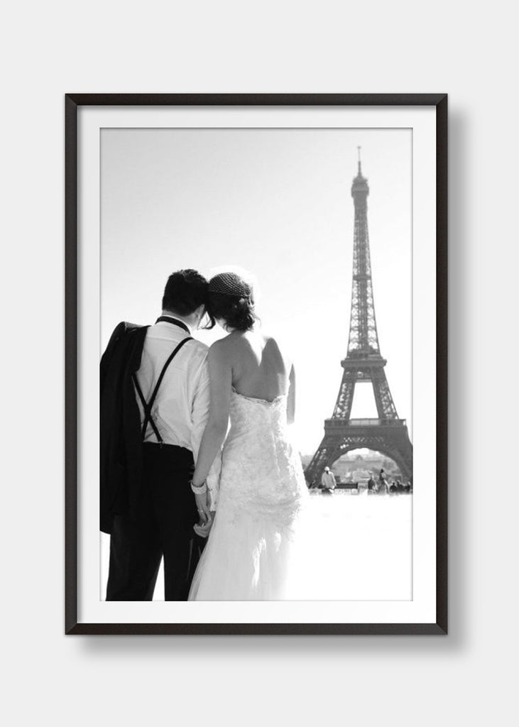 Romantic Eiffel tower