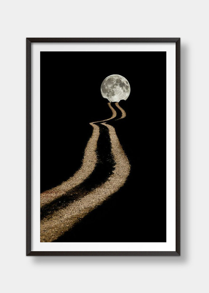 Way to the moon