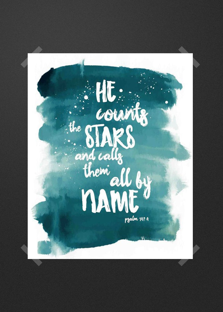 He count stars