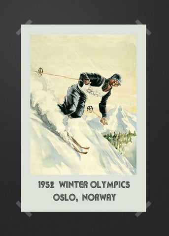 1952 winter olympics Oslo