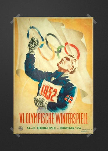 1952 winter Olympics Oslo German