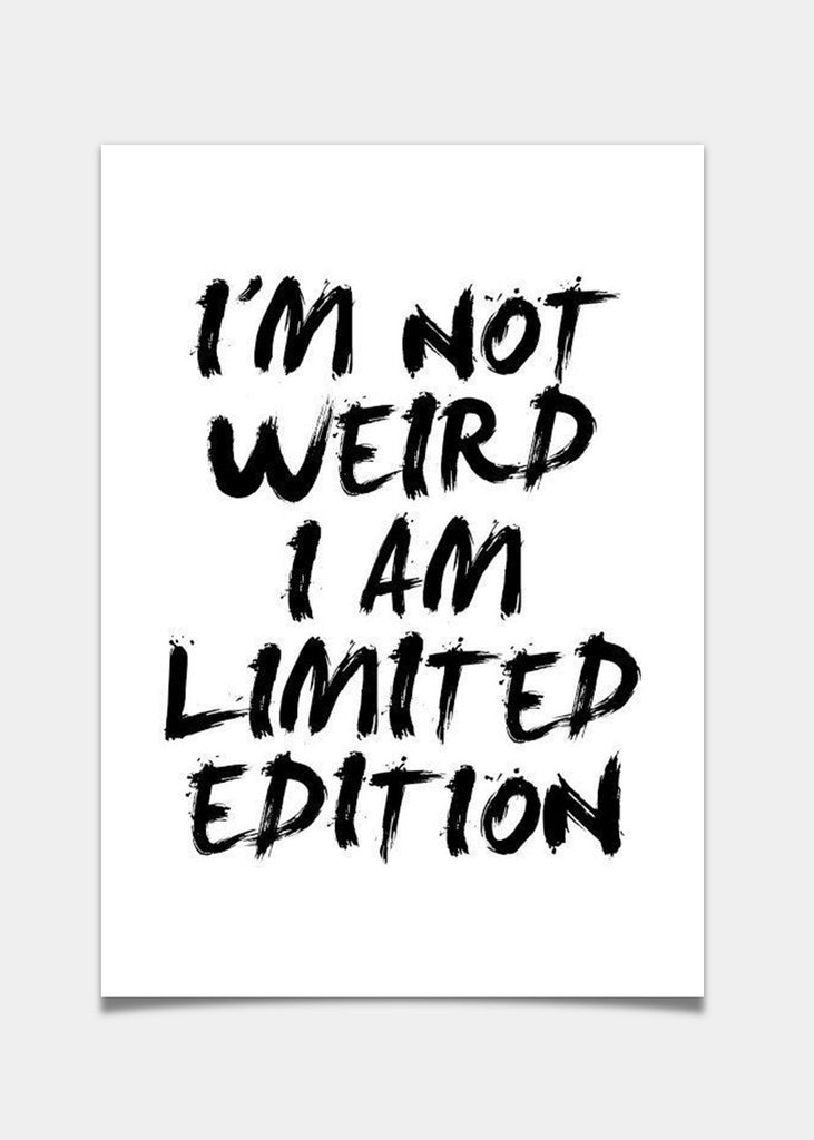 Im not weird