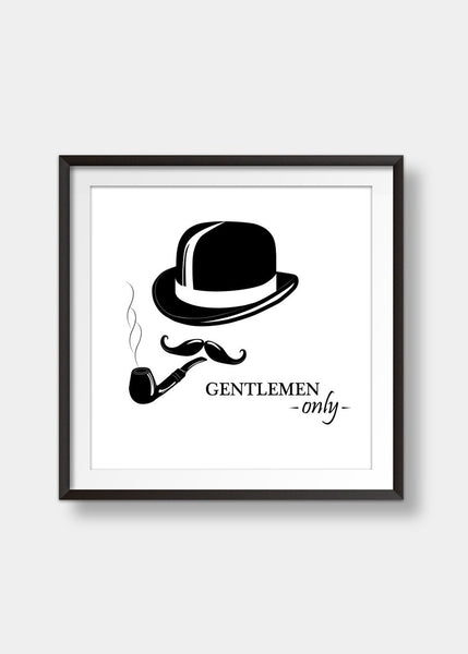 Gents only