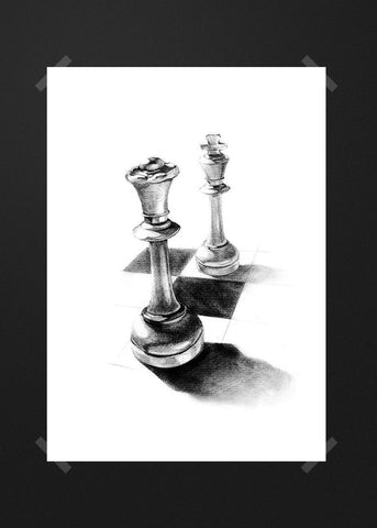 Chess drawing