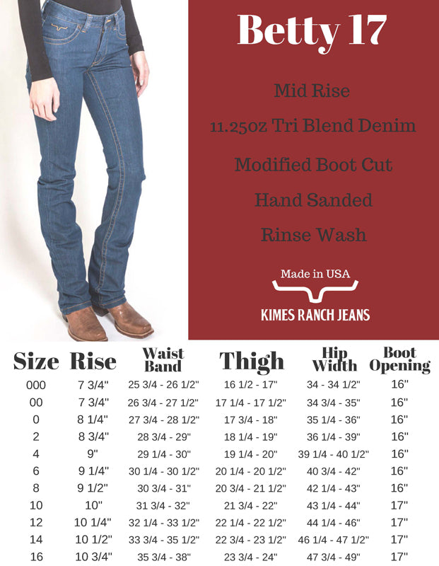 Kimes Ranch - Betty 17 Jean - Tin & Turquoise Western Boutique