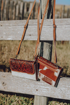Bolt Leather & Cowhide Wallet