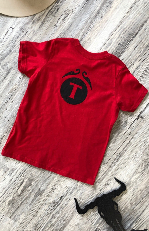 Branded T - Branded Kids Tee - Tin & Turquoise Western Boutique