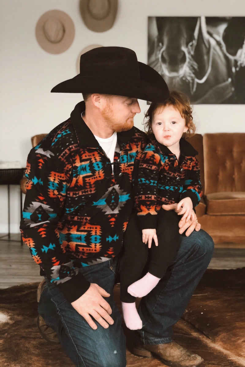 Canyon Sunrise Pullover - Tin & Turquoise Western Boutique