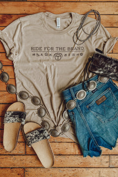 Branded T Original - Ride for the Brand Tee