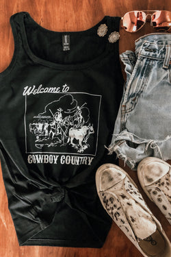 Branded T - Cowboy Country Tank (XL Only)
