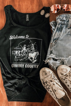 Branded T - Cowboy Country Tank