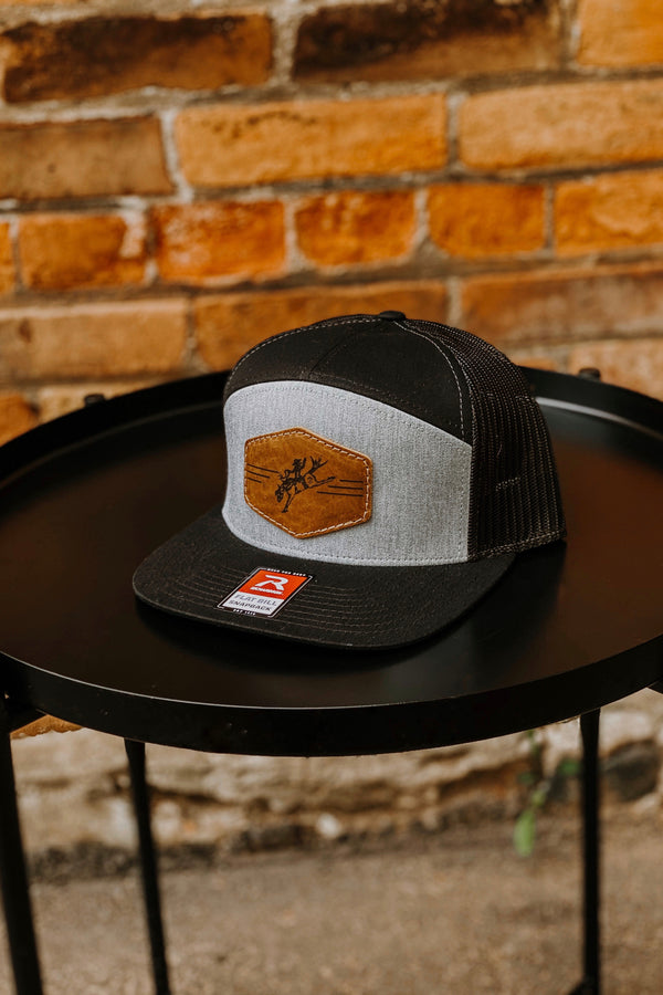Branded T - Buckin Around 7 Panel Trucker Hat (2 Colours)