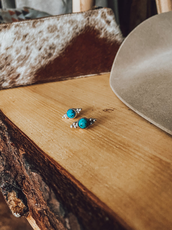 Ryder Turquoise Studs