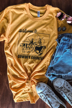 Branded T - Cowboy Country Tee