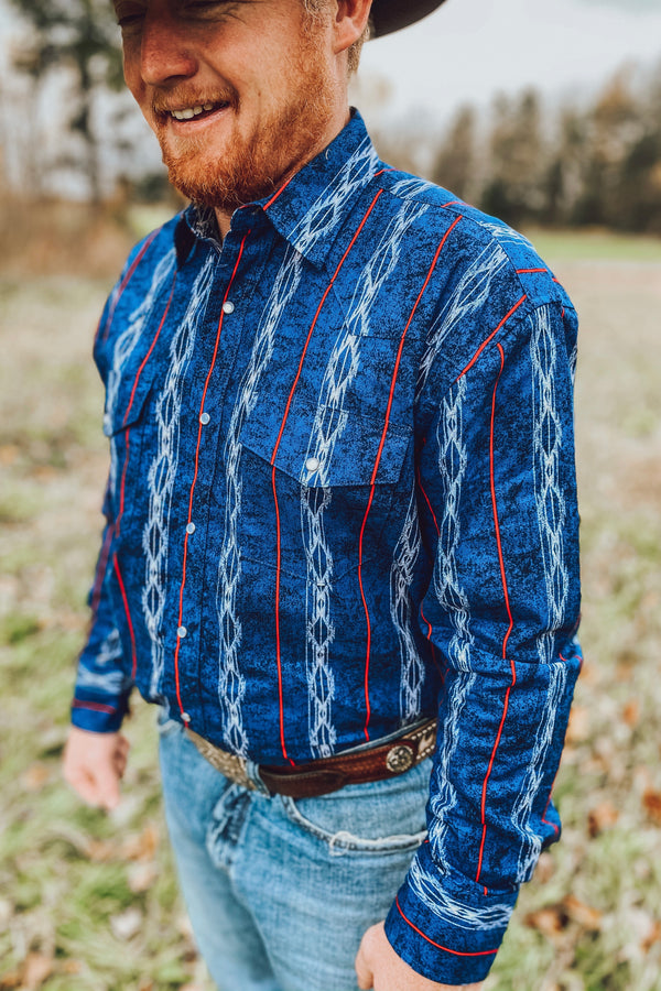 Wrangler -Checotah Button Down