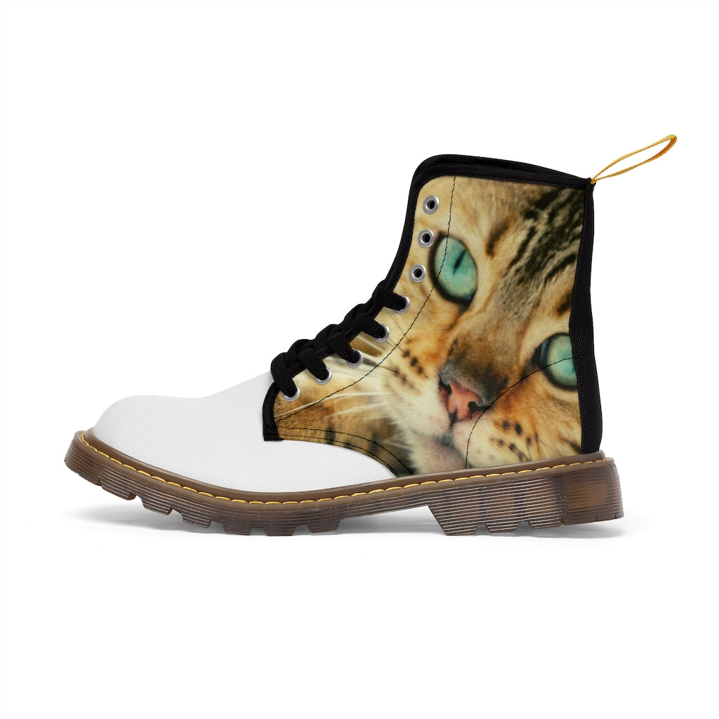 Terry - Women's Canvas Boots-CatStory™