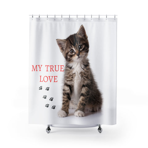 Image of Vlad - My True Love - Shower Curtains - CatStory™