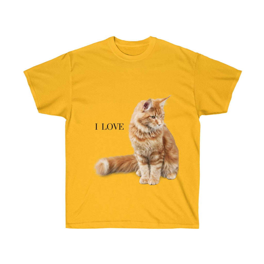 Amy - I Love Cats - Unisex Ultra Cotton Tee-