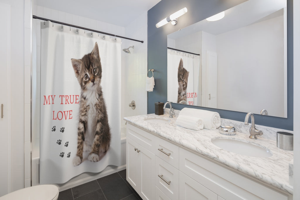Vlad - My True Love - Shower Curtains - CatStory™