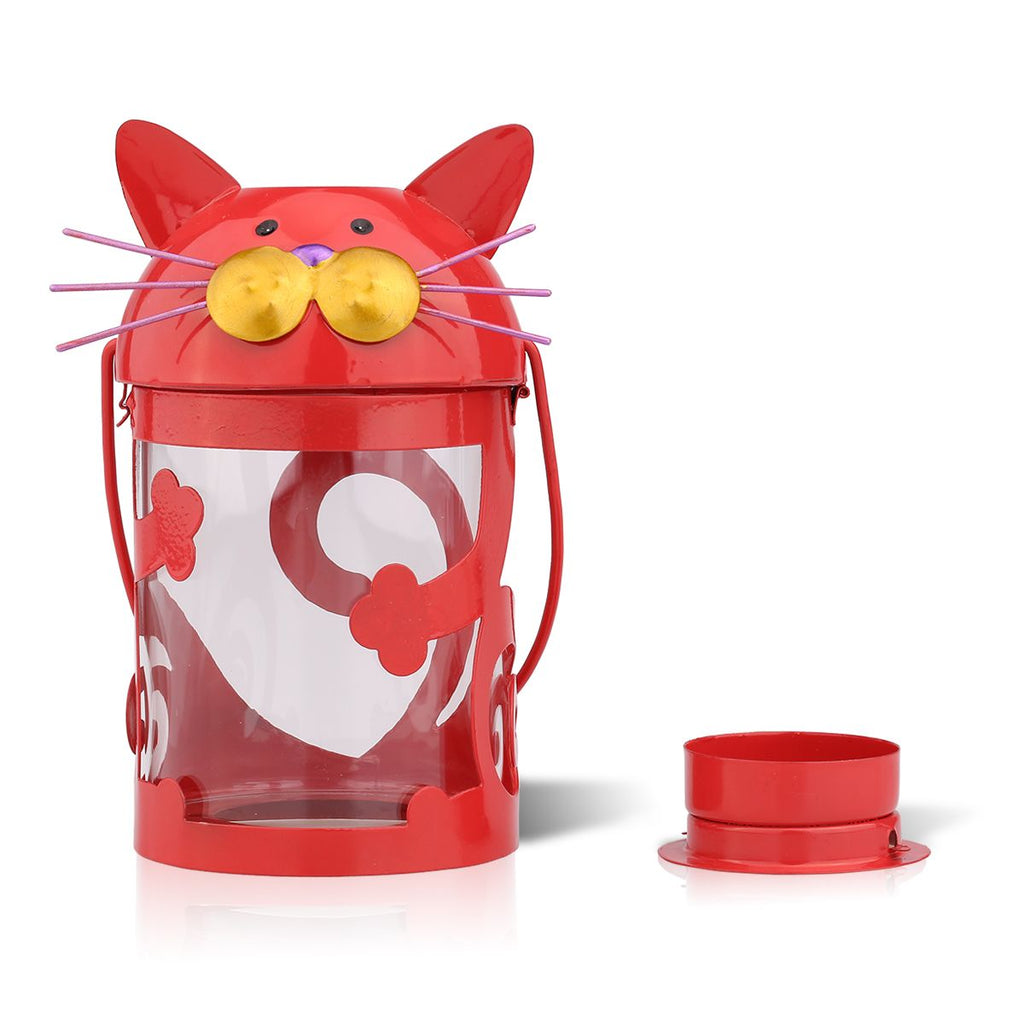 Luli -  Cat Candle Holder Hurricane lamp
