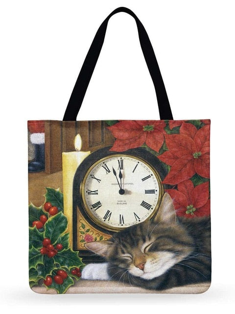 Vera - CatStory™ Cute Cat Canvas Handbag