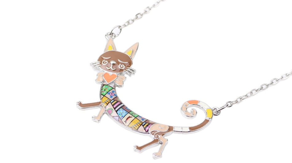 Dorothy - CatStory™ Enamel Kitten Cat Choker Necklace