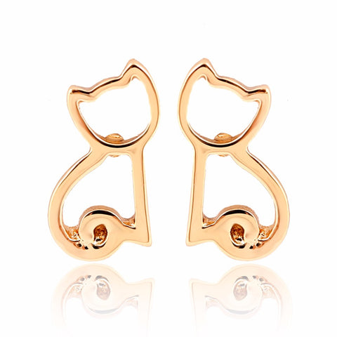 Dakota - CatStory™ Geometric Cat Earring Studs