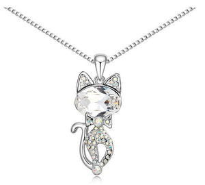 Maria - CatStory™ Crystal Cat Necklace