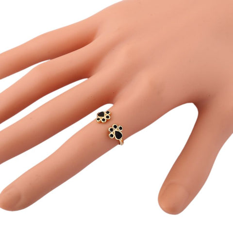Zoey - CatStory™ Cat Paw Print Ring