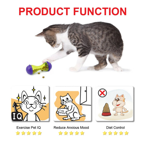 Ted - CatStory™ Interactive Cat IQ Treat Ball