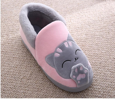 Linda - CatStory™ Winter Home Slippers