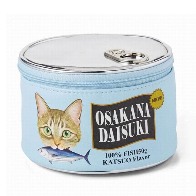Mila - CatStory™ Cat Food Can Makeup Pouch