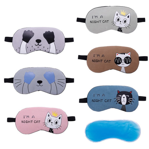 Image of Kim - CatStory™ Soft Eye Sleep Mask