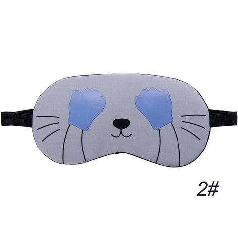 Kim - CatStory™ Soft Eye Sleep Mask