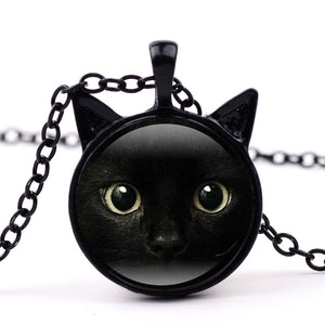 Kate -  CatStory™ Black Cat Pendant Chain Necklace